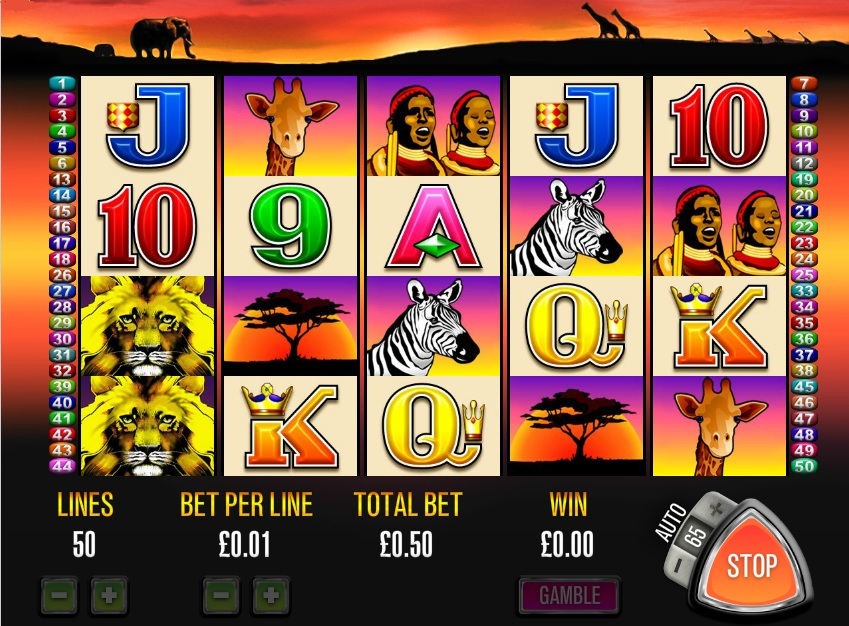 play 50 lions slots for fun