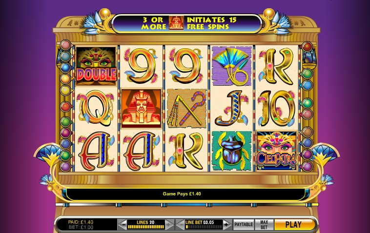 cleopatra online slot casin0 game