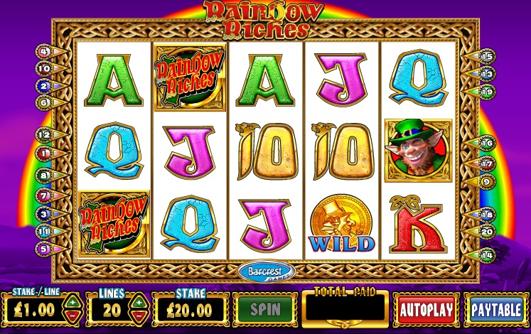 slot games rainbow riches