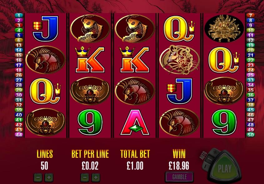 play 50 dragons slots free online