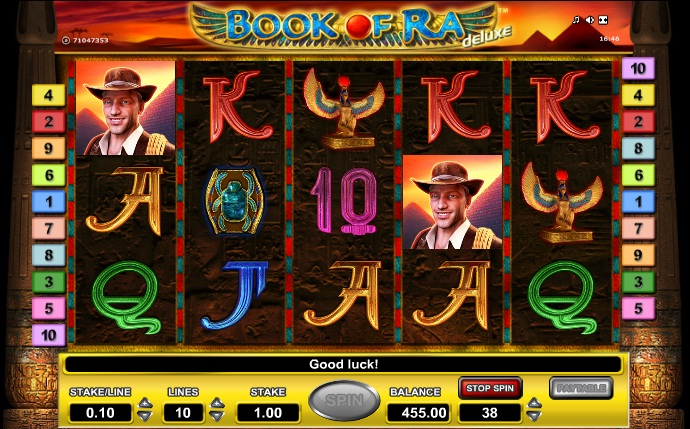 online casino news free slots book of ra