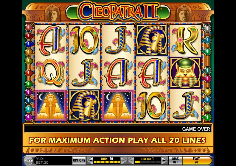 cleopatra slot for free