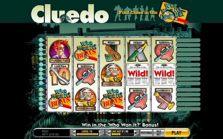 play original cluedo online free