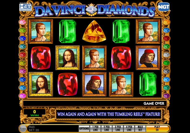 Davinci diamond slots online play zeus slots for free