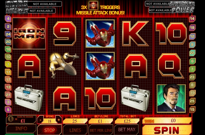 Win a Multilevel Progressive Jackpot from Marvel