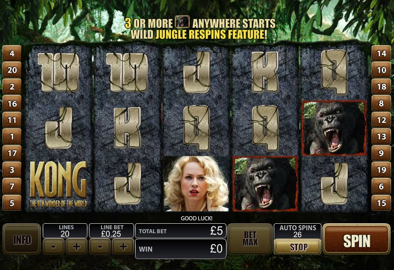 free slot king kong
