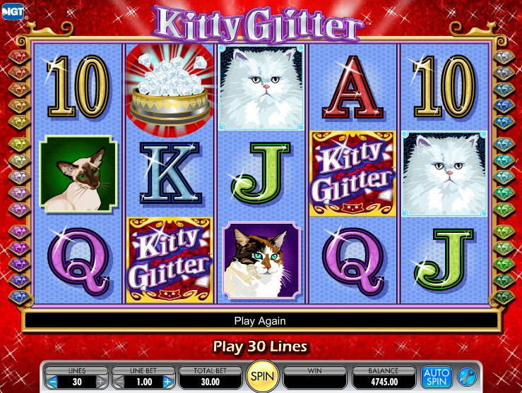 online slots kitty glitter