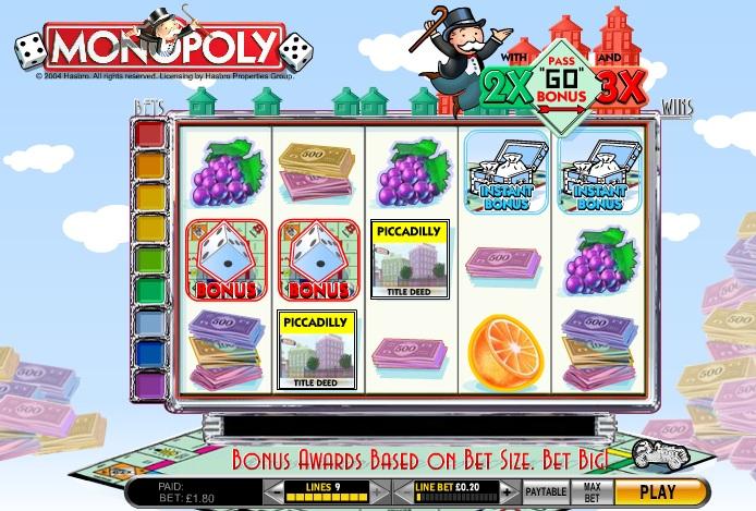 free slots monopoly
