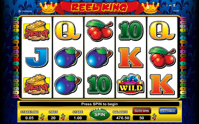 slot game online free slots reel king