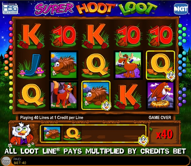 Super Hoot Loot™ Slot Machine Game to Play Free in IGTs Online Casinos