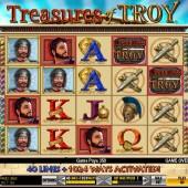 Treaures of Troy slot