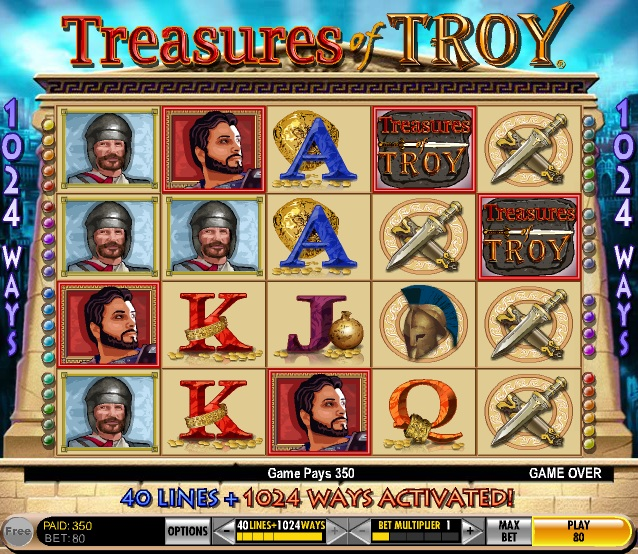 Free Slot Machine Treasure Of Troy