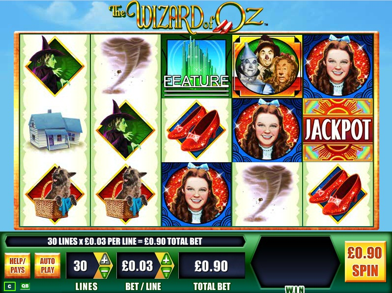 free online slots wizard of oz