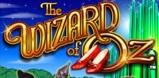 Wizard of Oz slot logo