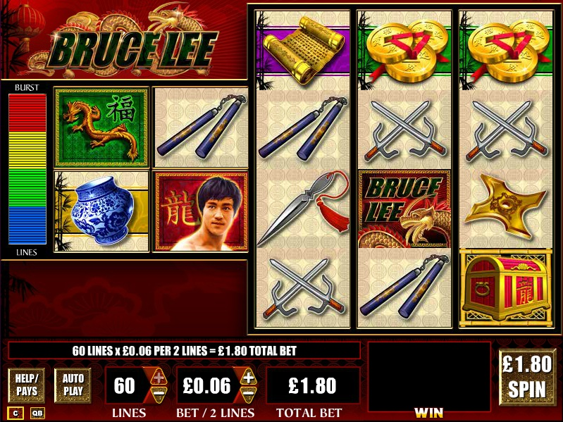 Spiele Bruce Lee - Video Slots Online