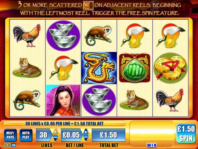 game of dragons slot