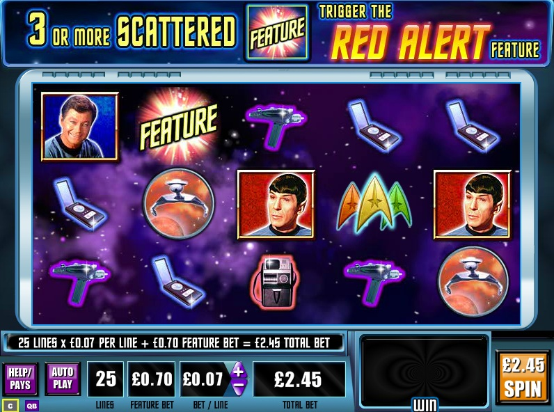 Star Trek Red Alert™ Slot Machine Game to Play Free in WMS Gamings Online Casinos