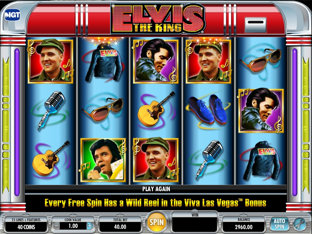 Elvis the king slot machine igt what is the payout on 00 in roulette