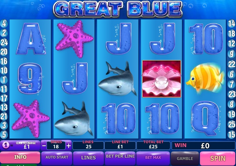 free online slots great blue