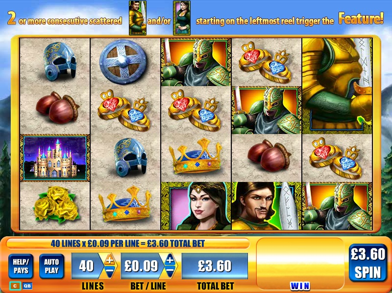King Arthur™ Slot Machine Game to Play Free in Microgamings Online Casinos