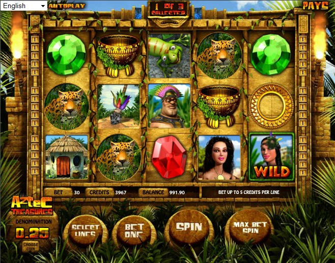 Spiele Aztec Treasure - Video Slots Online