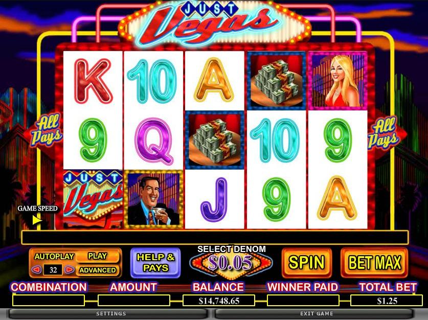 Vegas Slots Themes Online