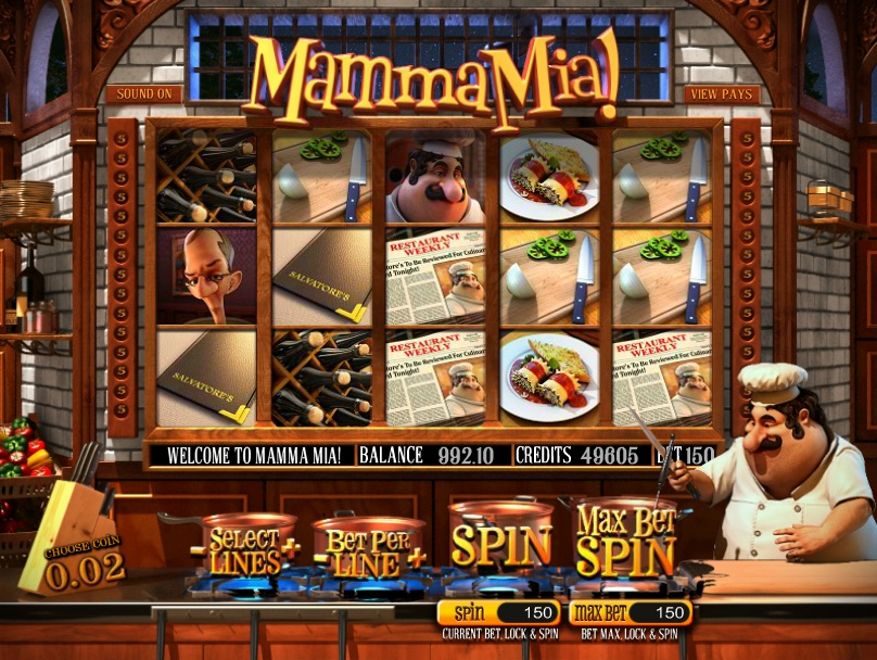 mamma mia slot game