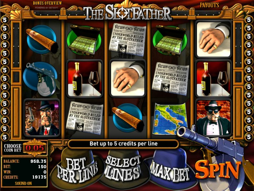 Mafia Slots - Play Free Online Slot Machines in Mafia Theme
