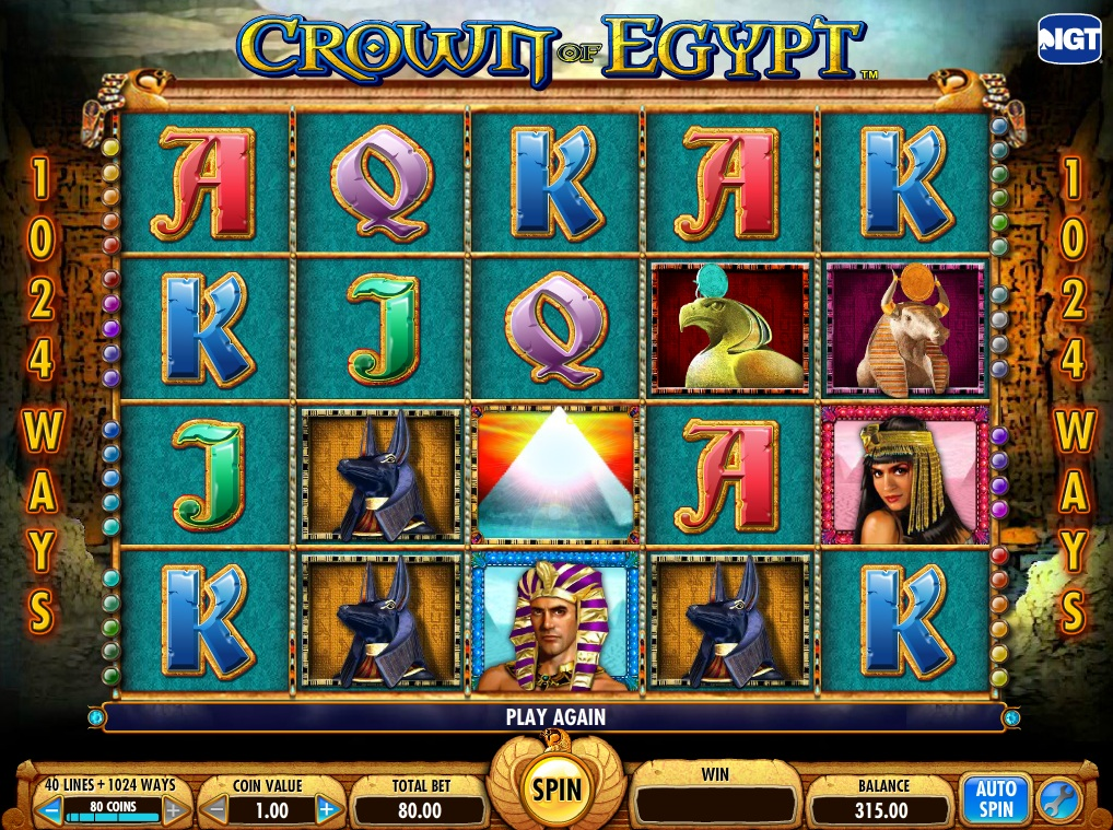 Egyptian Stone Slot Machine - Review and Free Online Game