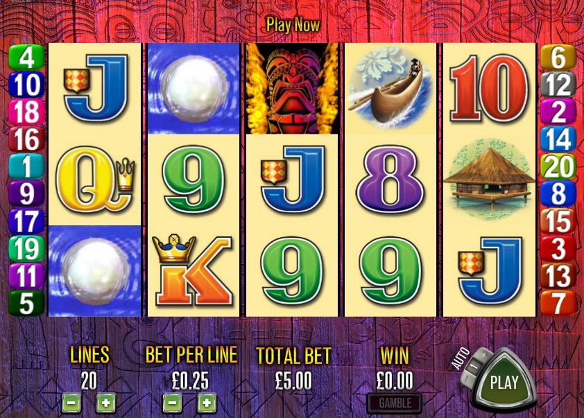 Tiki Torch Slots - Play for Free or Real Money