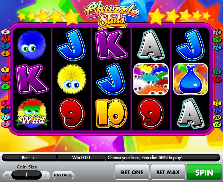 Chuzzle Slots - Play Online for Free or Real Money Now