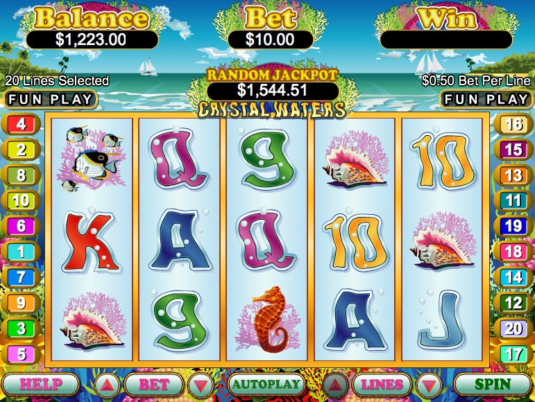 jackpot slots game online dolphins pearl