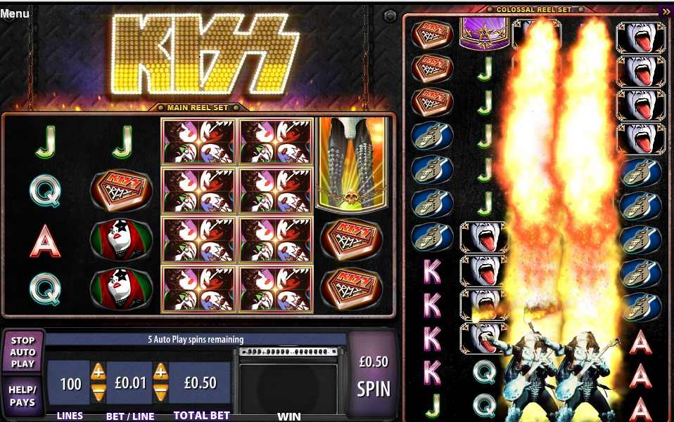 free kiss slot machine