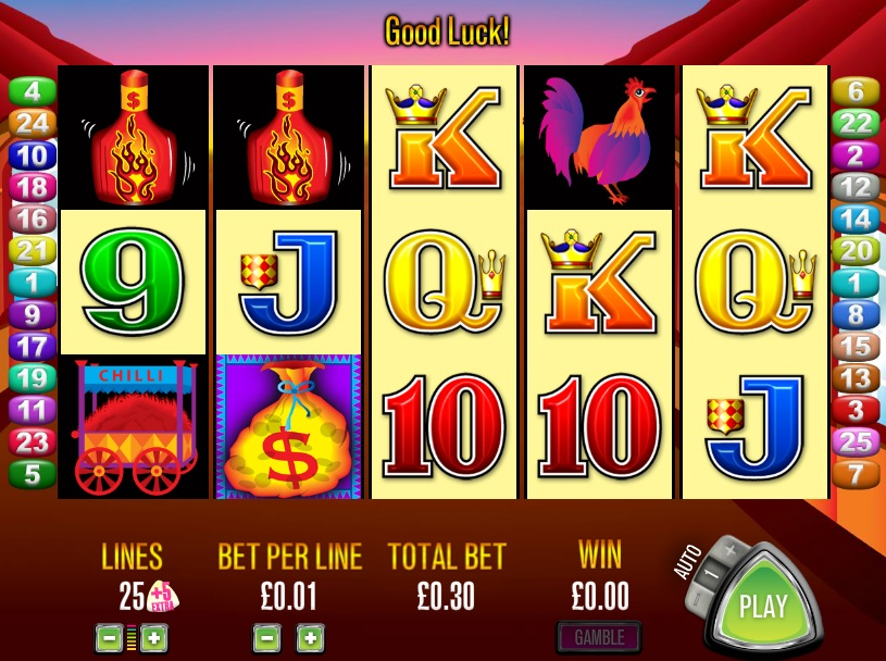 More Chilli Slot Machine