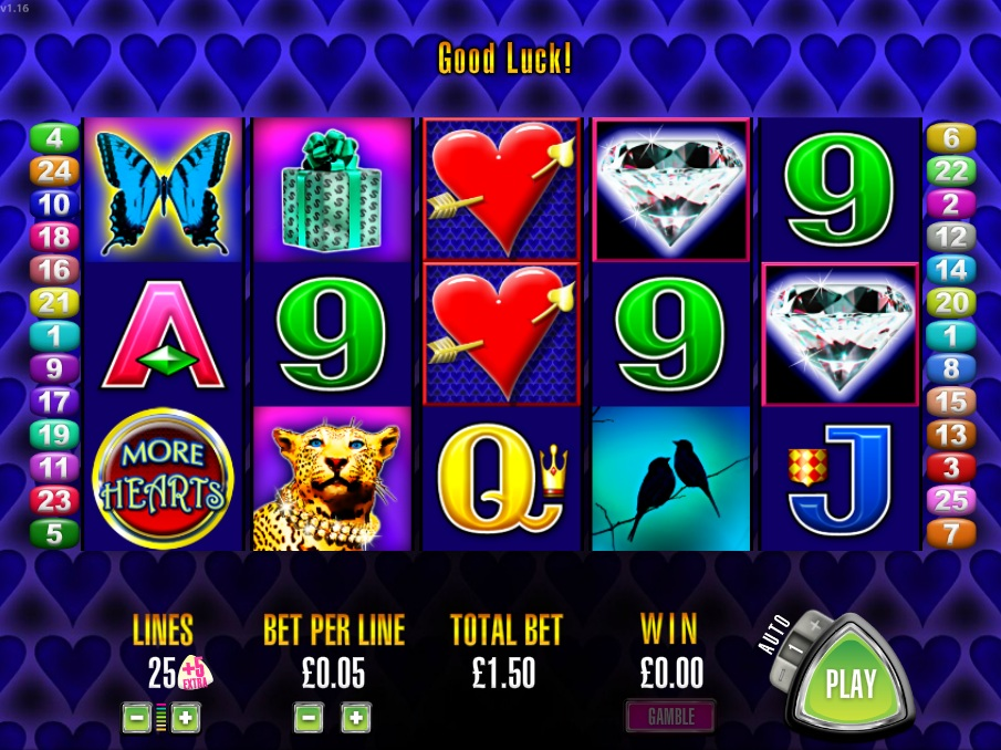 More Hearts Slot Machine Free Online