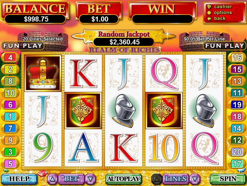 Wild Realms Slot - Available Online for Free or Real