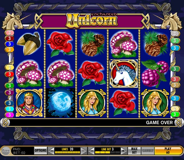 free casino games unicorn