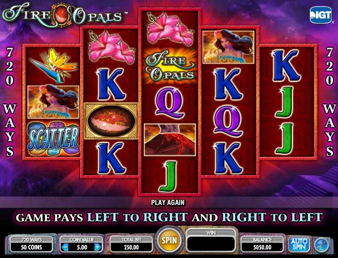 fire opal casino game