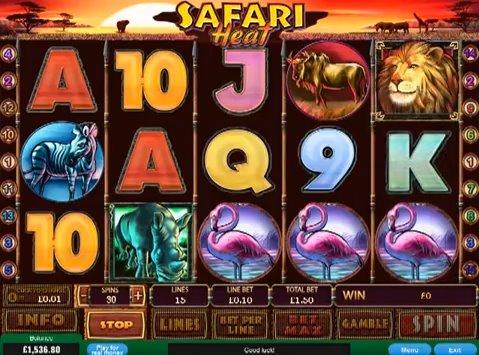 free slot game safari heat