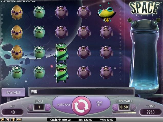 Spiele Space Wars Slots - Video Slots Online