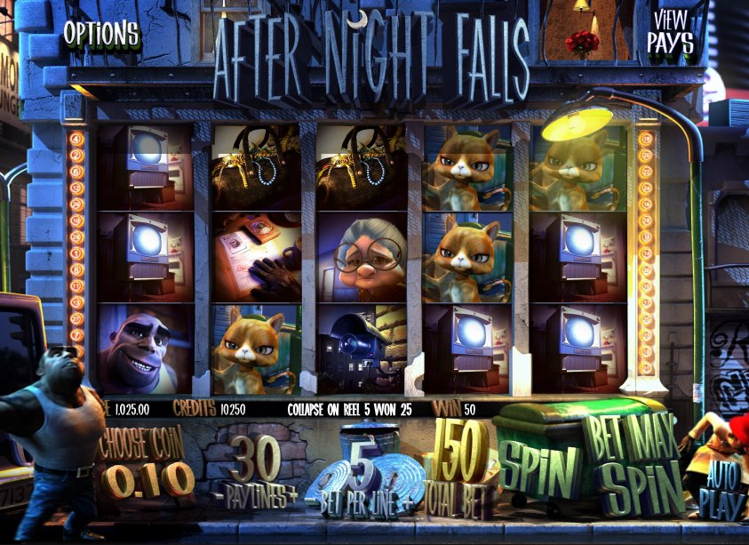 After Night Falls Online Detective Slot Betsoft Gaming
