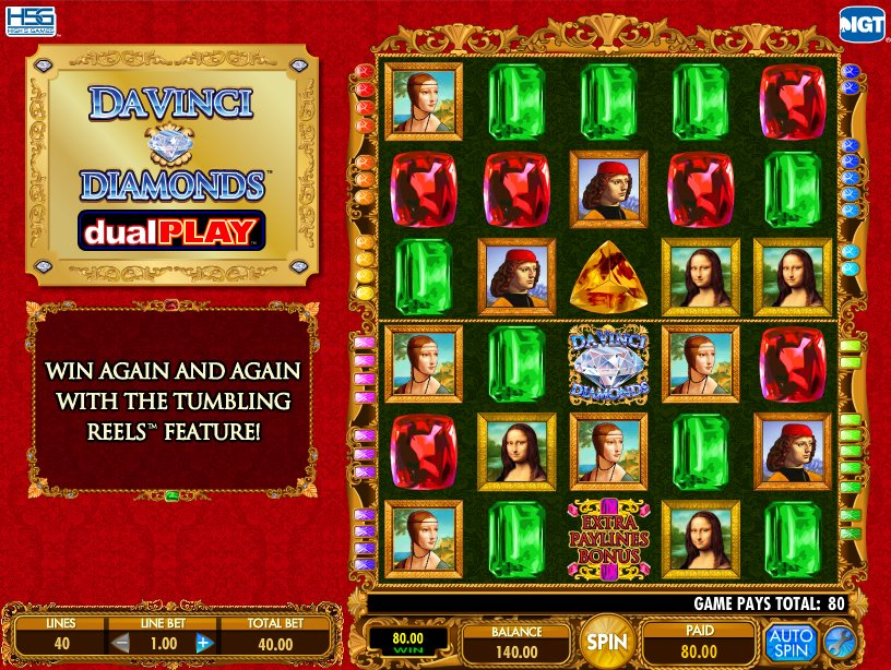 Da Vinci Slot - Read the Review Now and Play Now