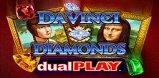 Cover art for Da Vinci Diamonds Dual Play slot