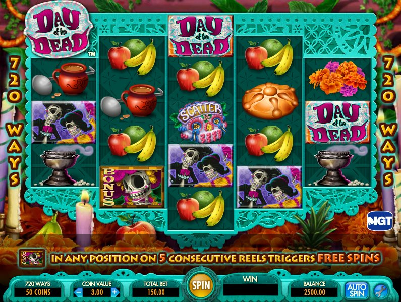 Spiele Day Of The Dead - Video Slots Online
