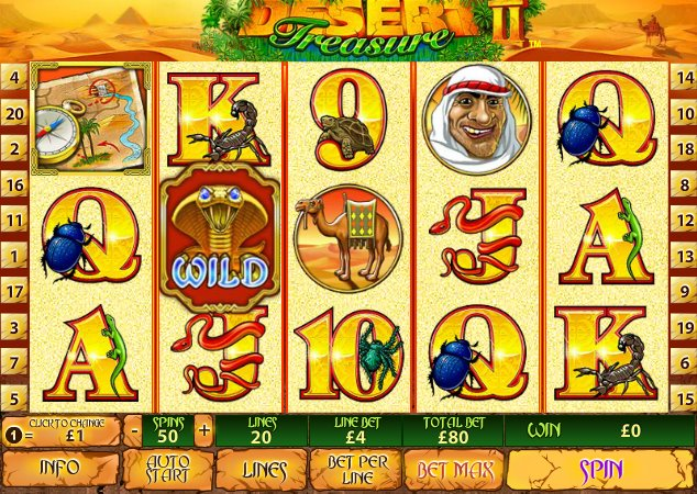 Spiele Desert Treasure 2 - Video Slots Online