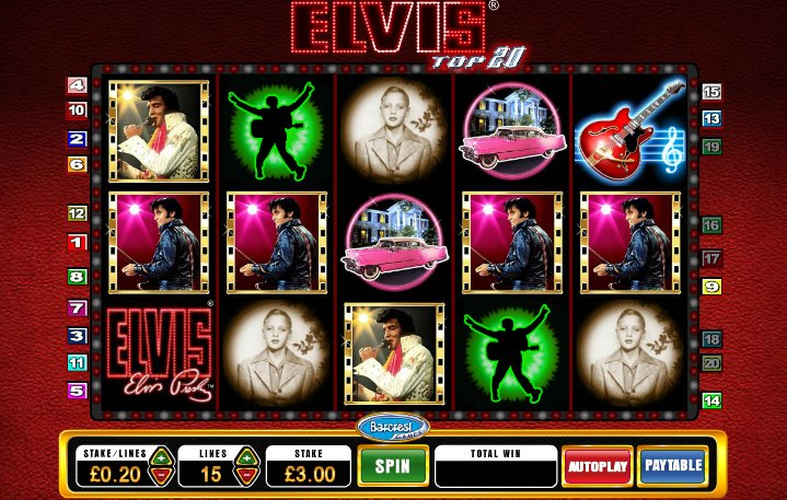 free slot games elvis