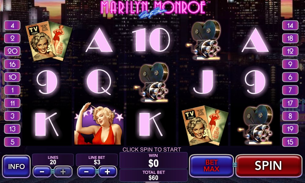 Marilyn Monroe Slots - Play Online for Free Instantly