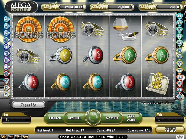 video slots online free mega fortune