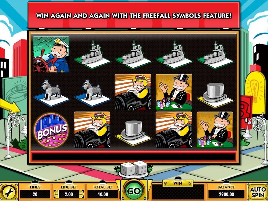 monopoly slots game online