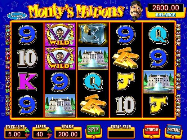 Montys millions free play